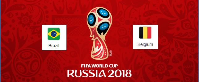 Brazil vs Belgium prediction and match odds