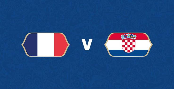 France vs Croatia prediction and match odds