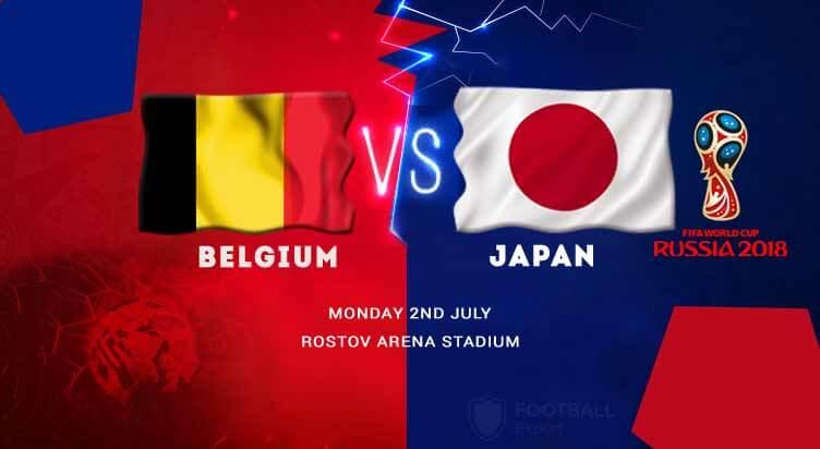Belgium vs Japan prediction and match odds