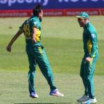 Imran Tahir and Faf du Plessis