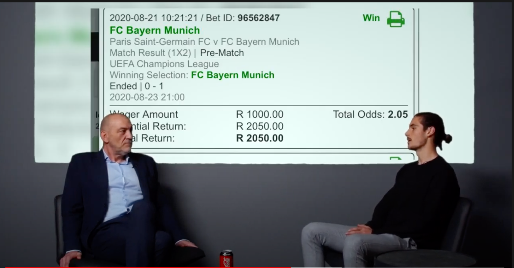 MoneyMan wins big as Bayern are crowned Champions of Europe
