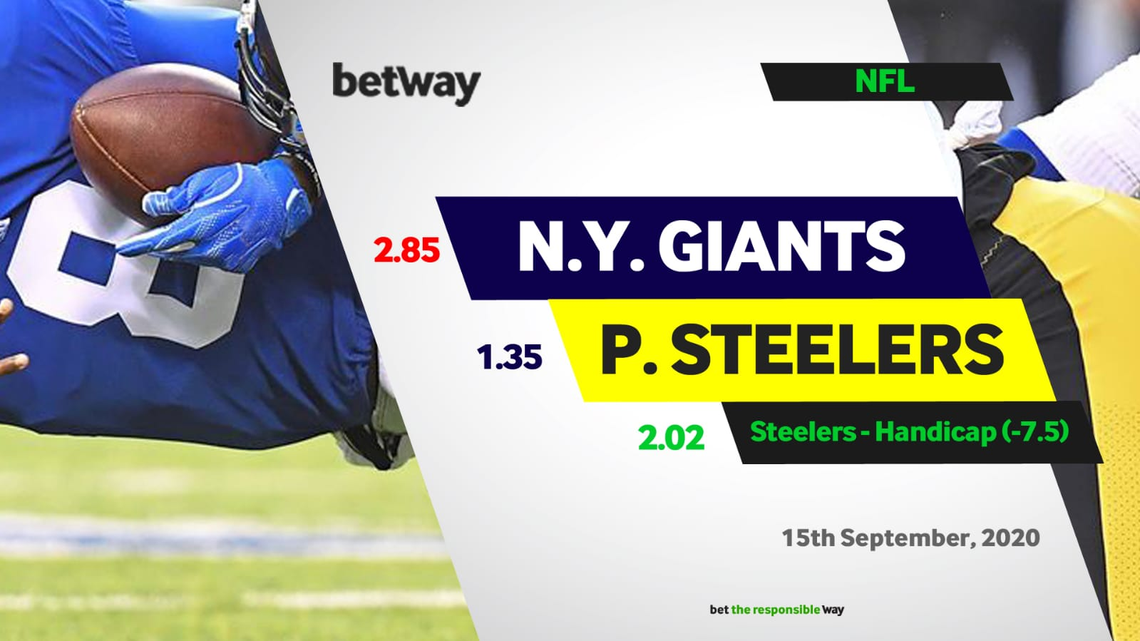 Steelers to ease past Giants