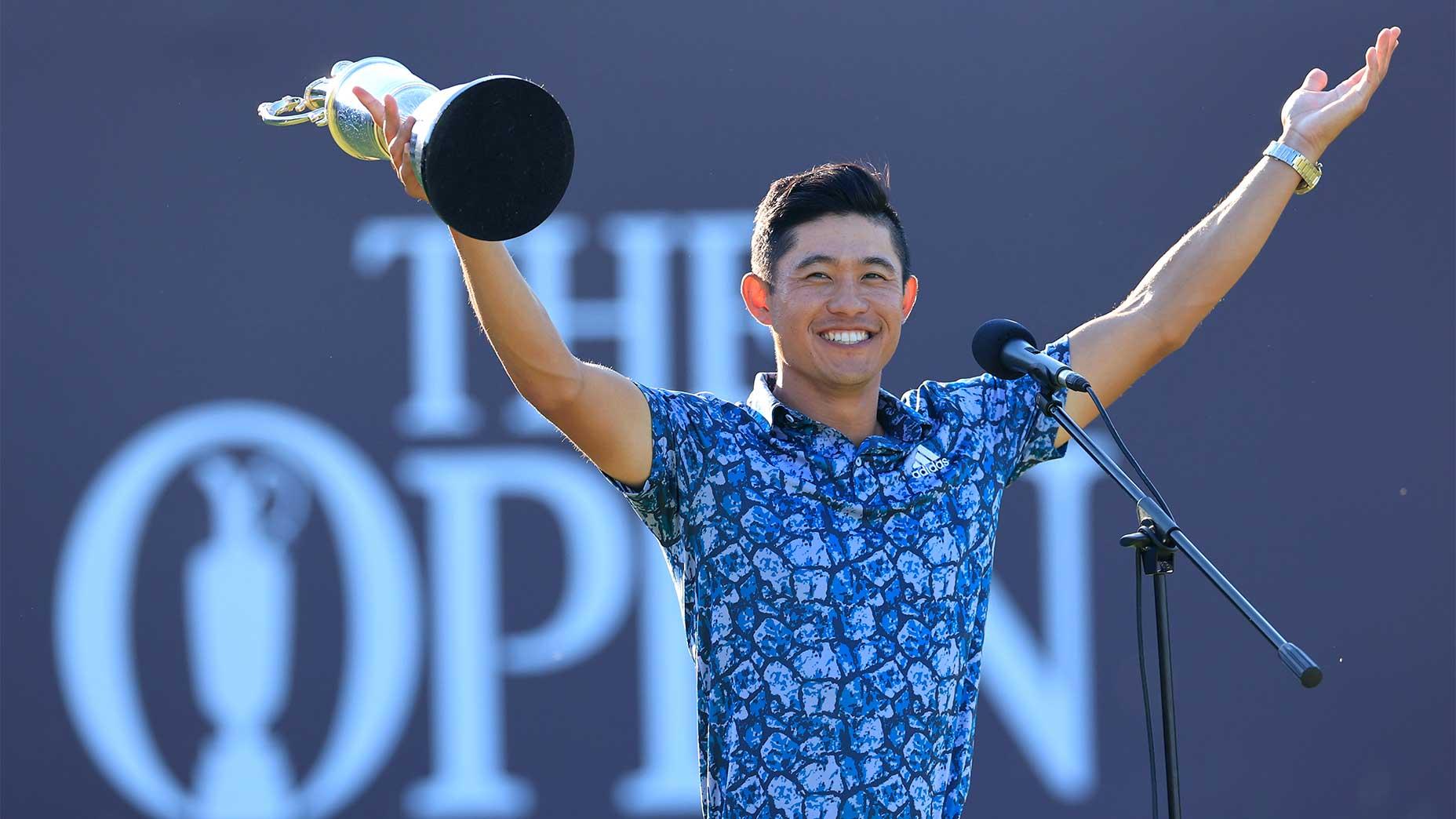 Winning big on The Open