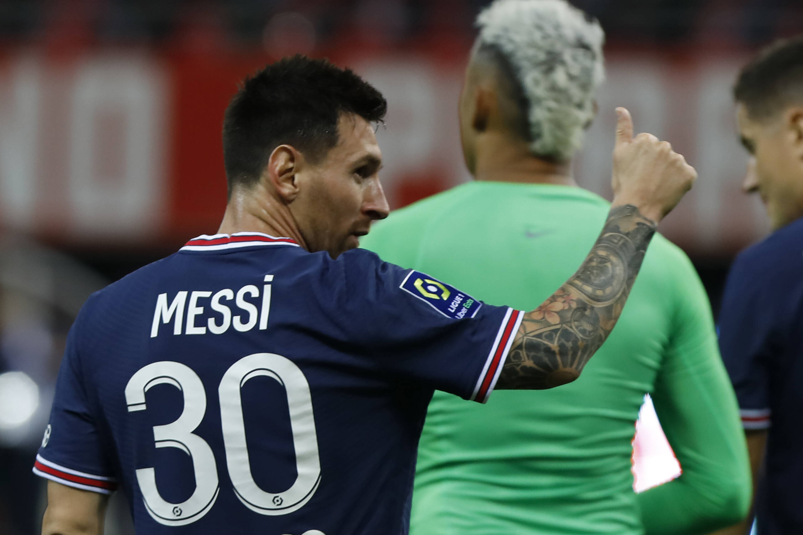 Lionel Messi's PSG debut